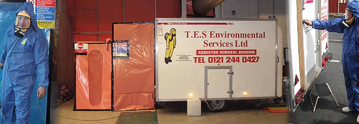 Asbestos decontamination process