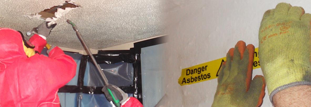 Textured coatings asbestos removals