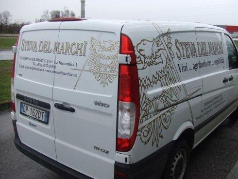 decorazione furgoncino