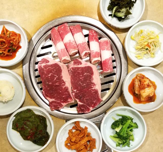 Japanese yakiniku beef