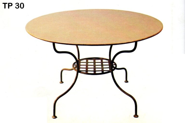 tavolo pranzo ferro battuto