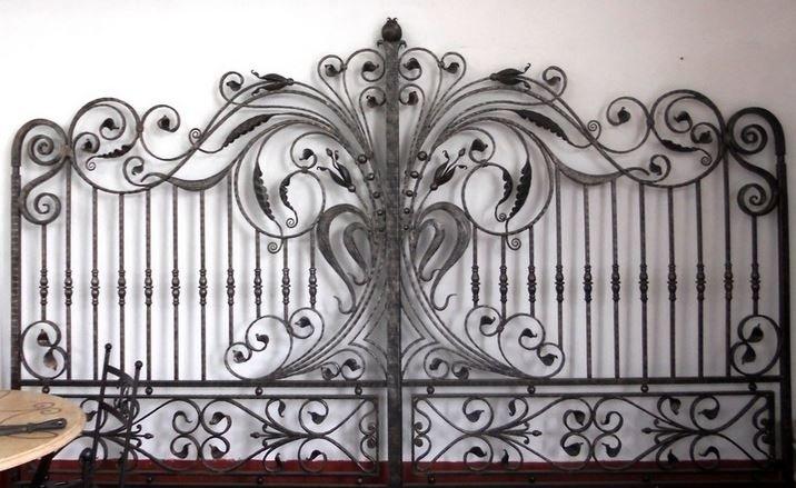 cancello ferrobattuto
