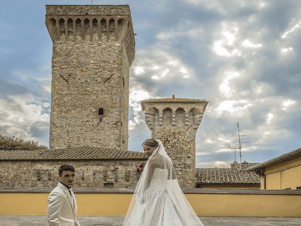 foto di matrimonio centro storico di arezzo