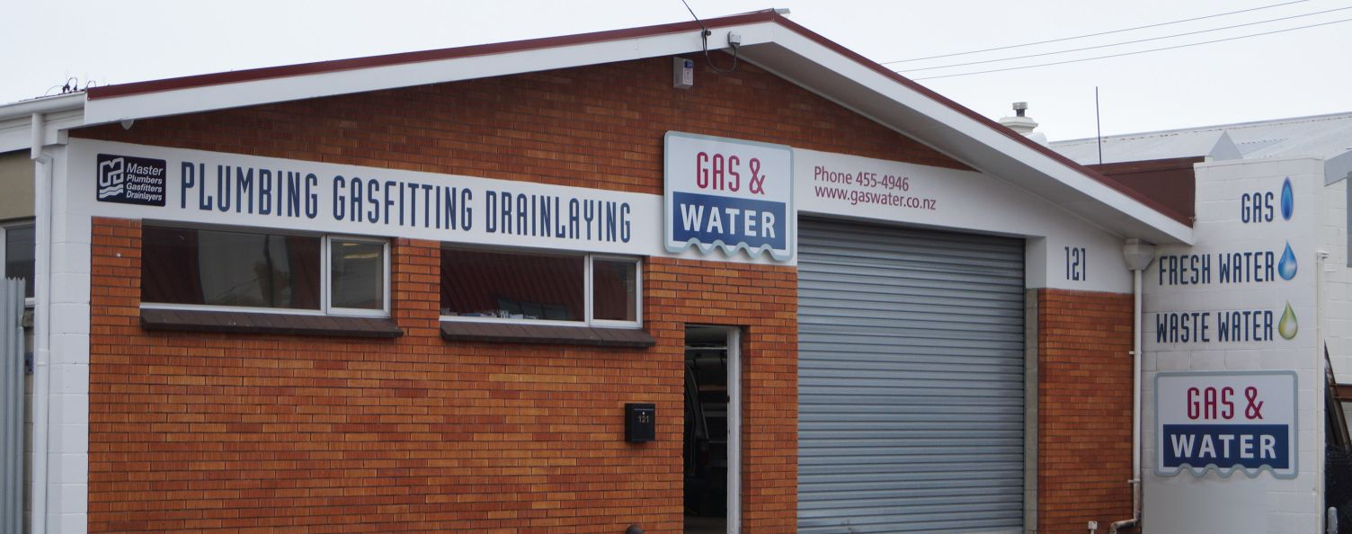 Our plumbing warehouse in Dunedin