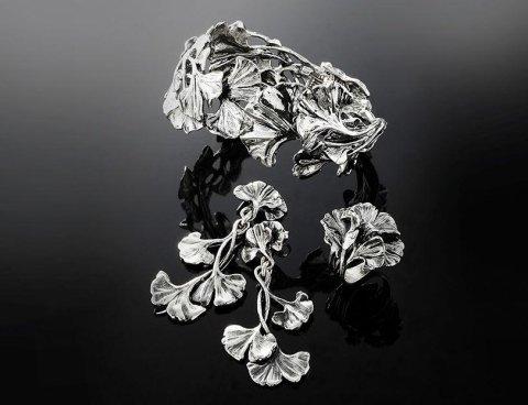 gioielli raspini - collezione ginkgo