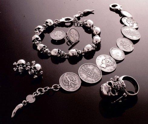 collane in argento, bracciali in argento