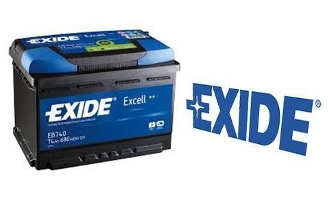 una batteria Exide