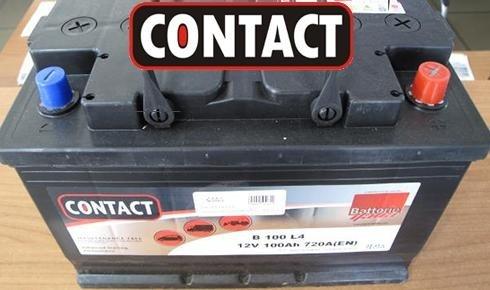 una batteria Contact