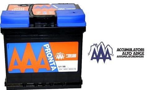 una batteria AAA