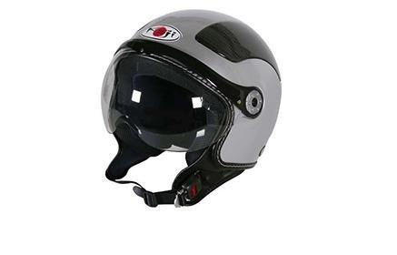 un casco da moto