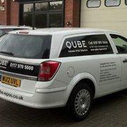 Qube EPoS Ltd service vehicle