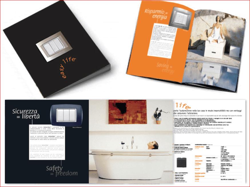 Progettazione cataloghi prodotti