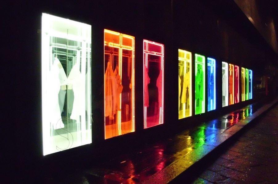 Neon per vetrine