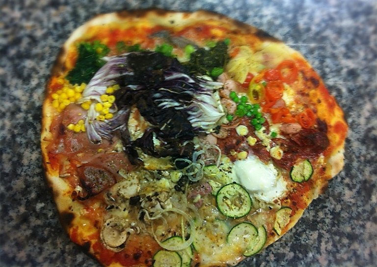 pizza cappricciosa