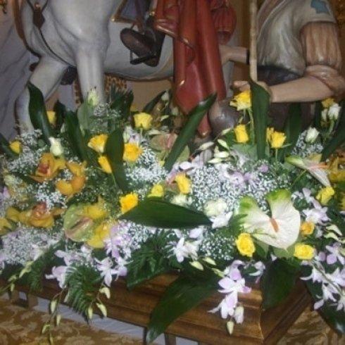 fiori recisi, ortensie, gladioli