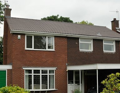Domestic roofing in Alsager