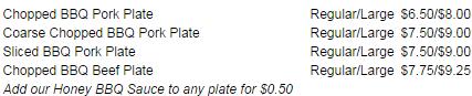 BBQ Plates