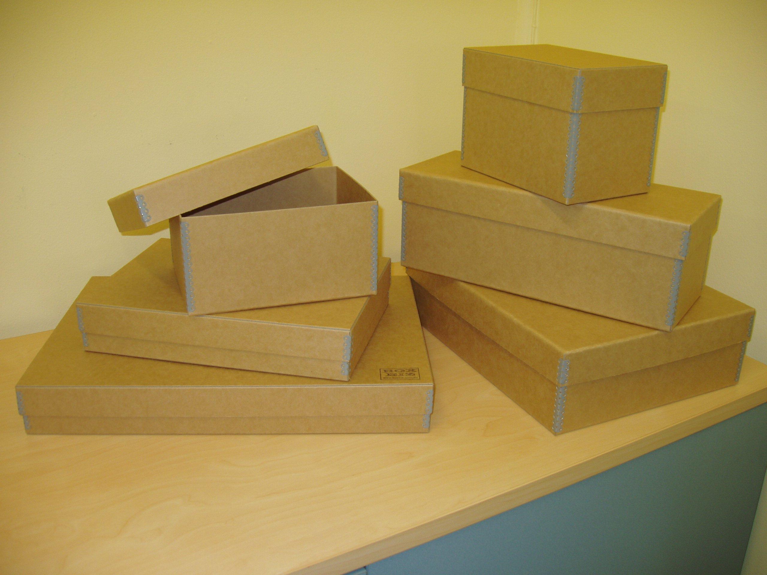 Metal Edge 'Fastay' boxes Jul06 001