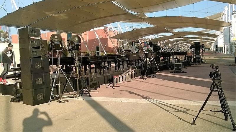 Expo sul-Decumano, concerto con 12 pianoforti