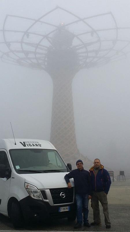 Ultimi giorni all'Expo, prima nebbia