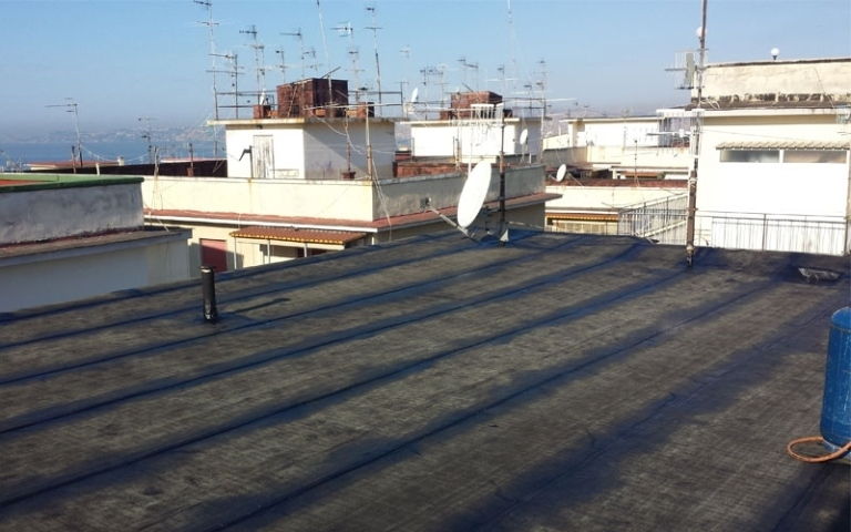 altro angolo del tetto rifatto