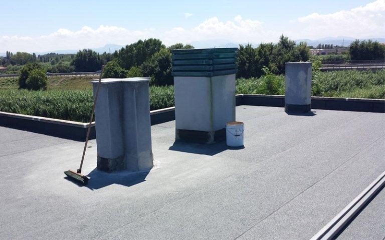 tetto impermeabilizzato
