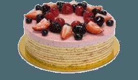 mixed berry cream