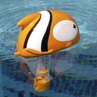 Termometro galleggiante per piscina con pesce Ciccio