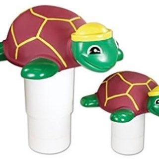 Dosatore galleggiante per piscina con animali