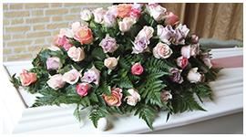 corone funebri fiori