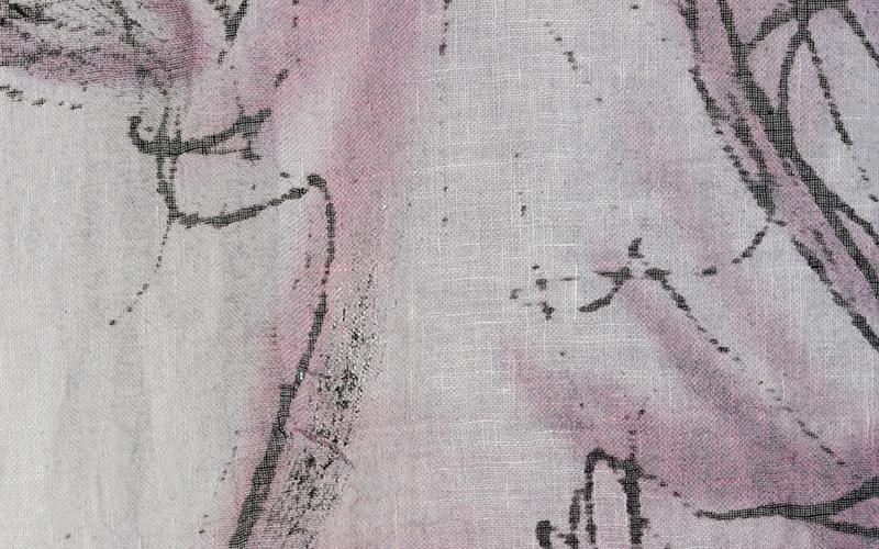 Le pennellate rose e nere