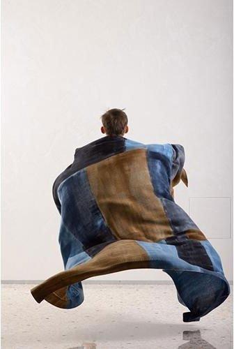 foulard su misura realizzato con tecnica artigianale
