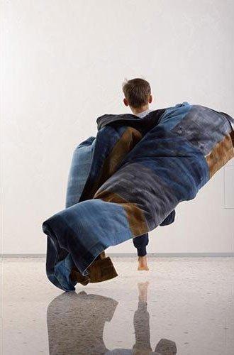 foulard realizzato in laboratorio artigianale