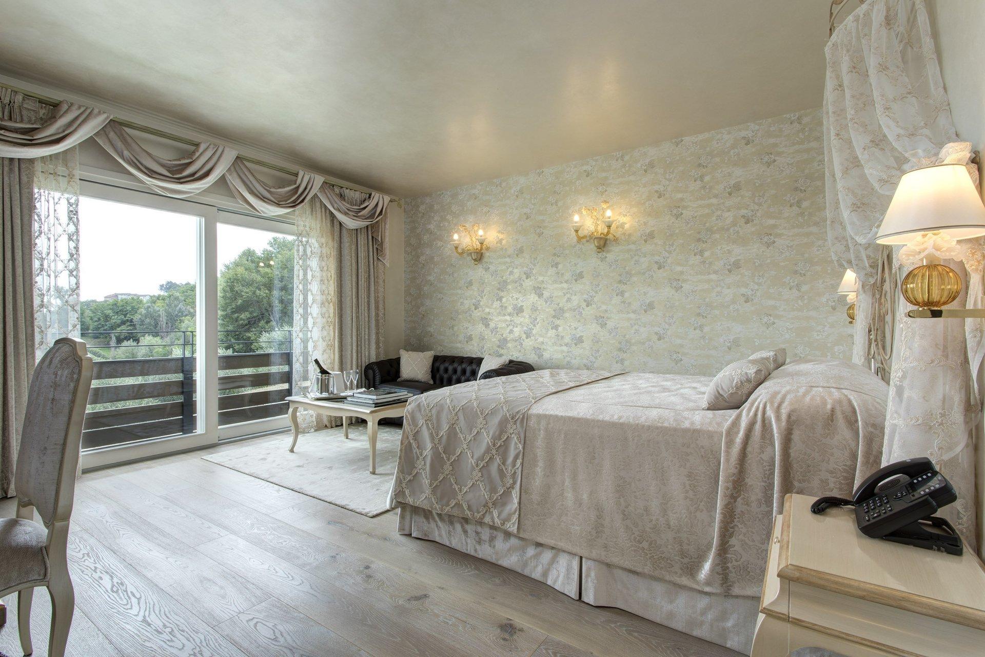 stanza da letto dopo restyling