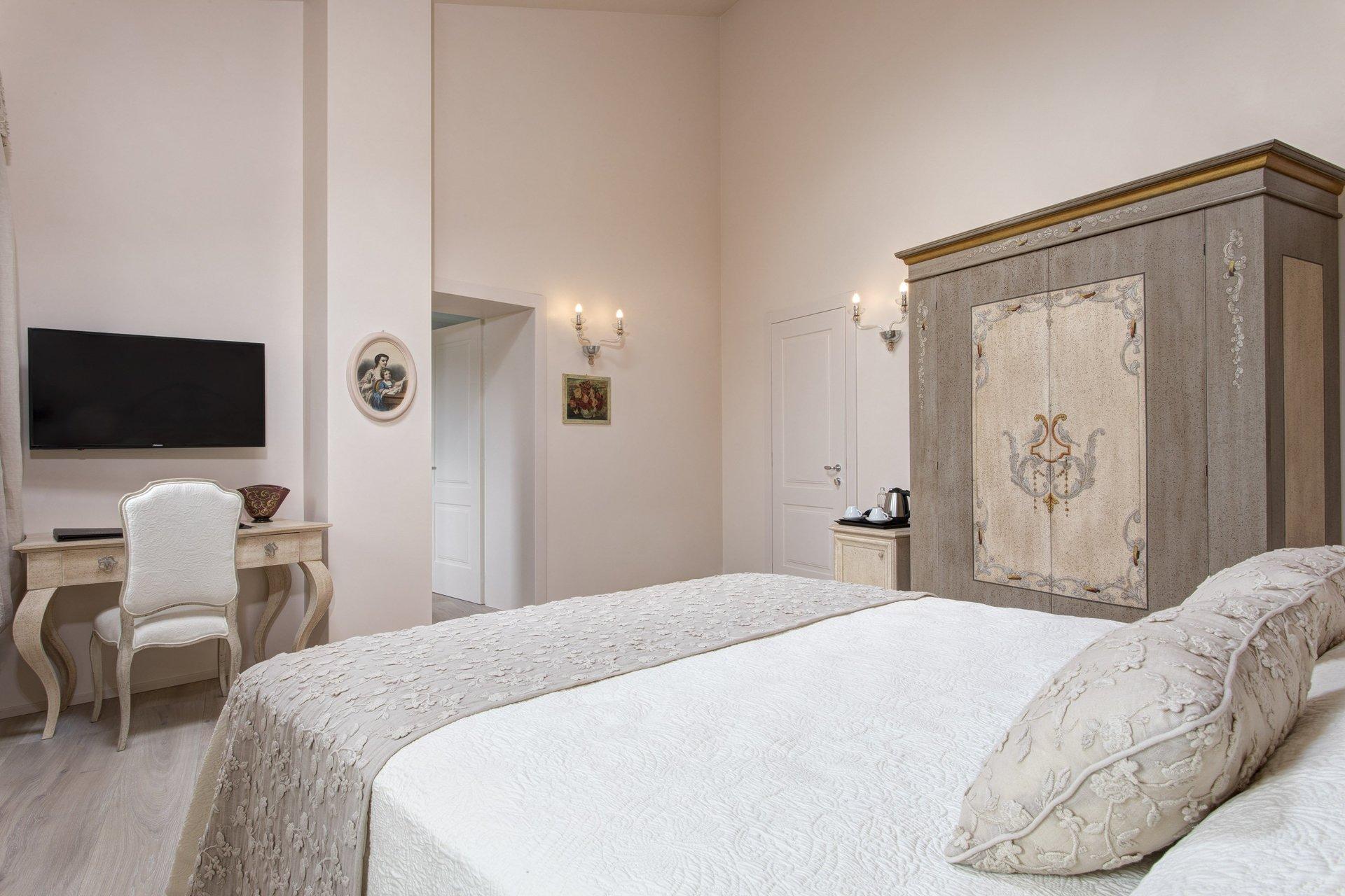 camera da letto dopo home staging