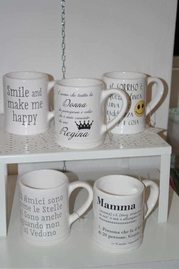tazze in ceramica toscana