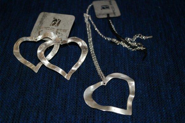 bigiotteria in argento e acciaio