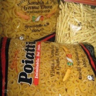 pasta di semola, pasta di grano duro