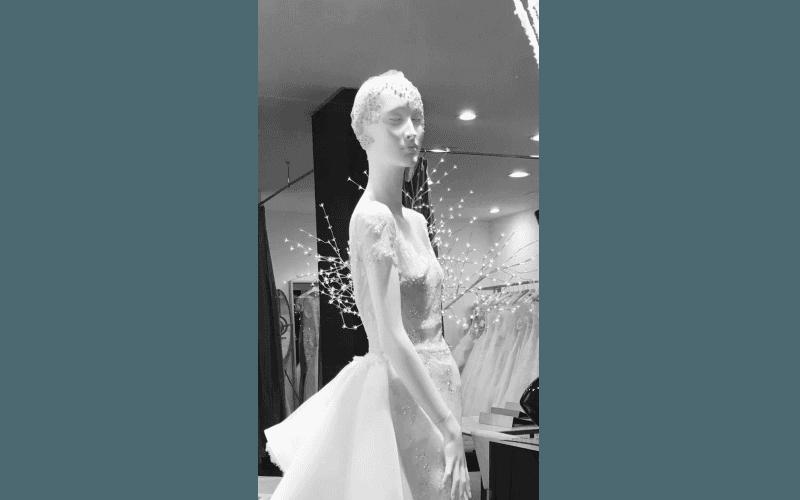 cuffia sposa