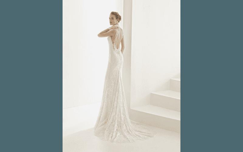 vestito sposa aderente