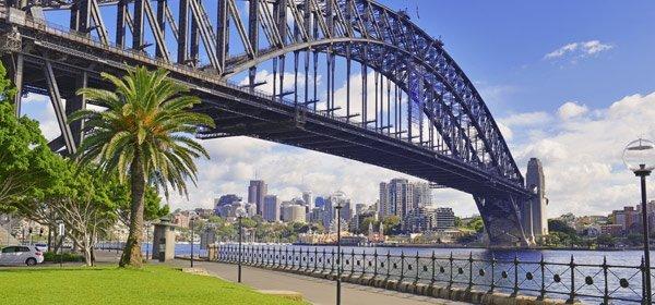 sydney harbour adda flagpoles