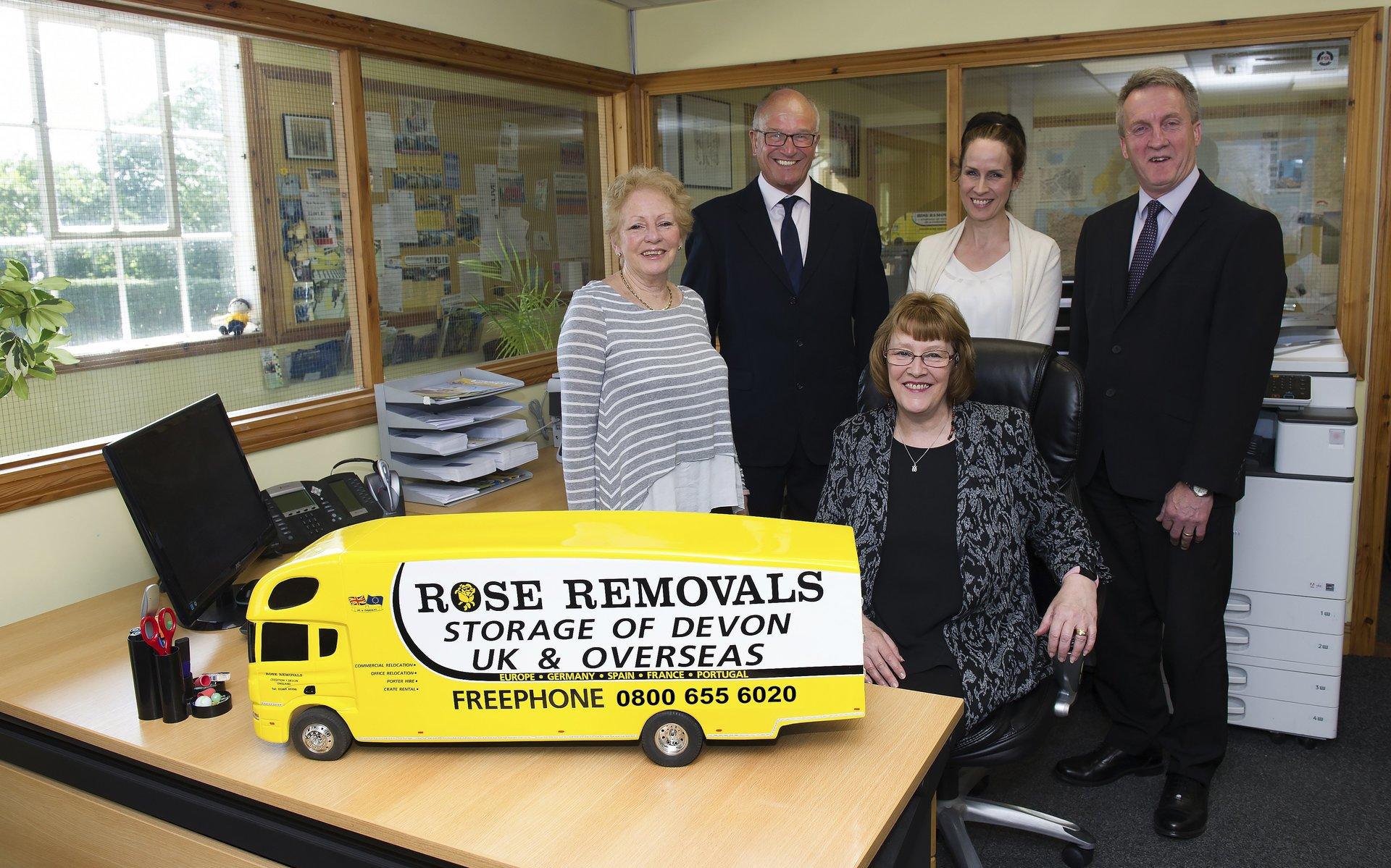 Team - Rose Removals and Storage of Devon