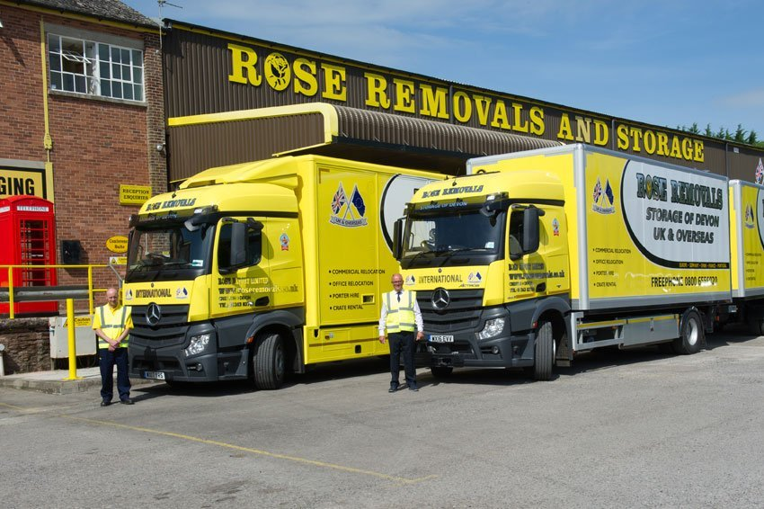 Rose Removals Vehicles