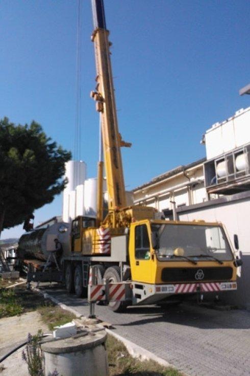 camion edilizia
