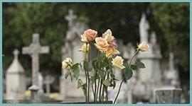 composizioni fiori funerali