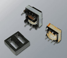 High-frequency switching transformers and inductors