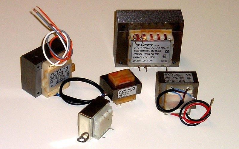 Trasformatori elettrici monofase