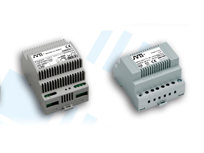ALIMENTATORI GUIDA DIN (POWER SUPPLY UNITS DIN RAIL):