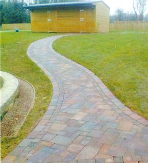 Driveway tiling