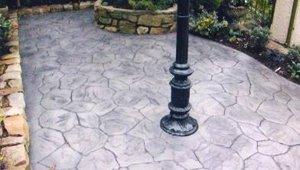 Pattern Patio Tiling
